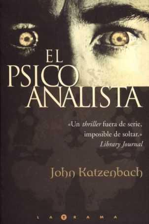 El psicoanalista, de John Katzenbach