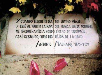 D. Antonio Machado (Respeten la historia)