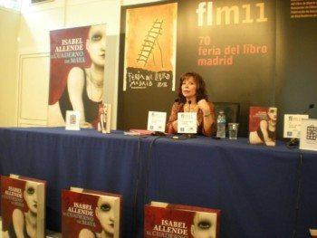 Presentación de El cuaderno de Maya, de Isabel Allende
