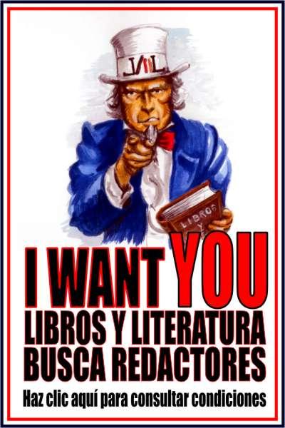 Libros y Literatura busca redactores