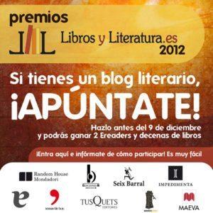 Premios Libros y Literatura 2012