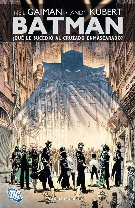 Batman qué le sucedió al cruzado enmascarado