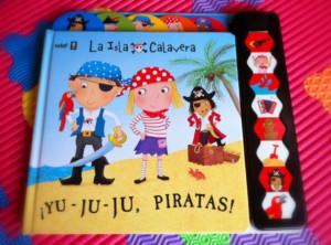 Portada de ¡Yu, ju, ju, piratas!