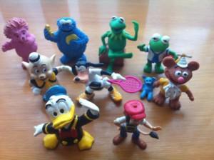 Muñecos de la infancia