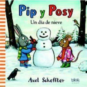 pip y posy un dia de nieve