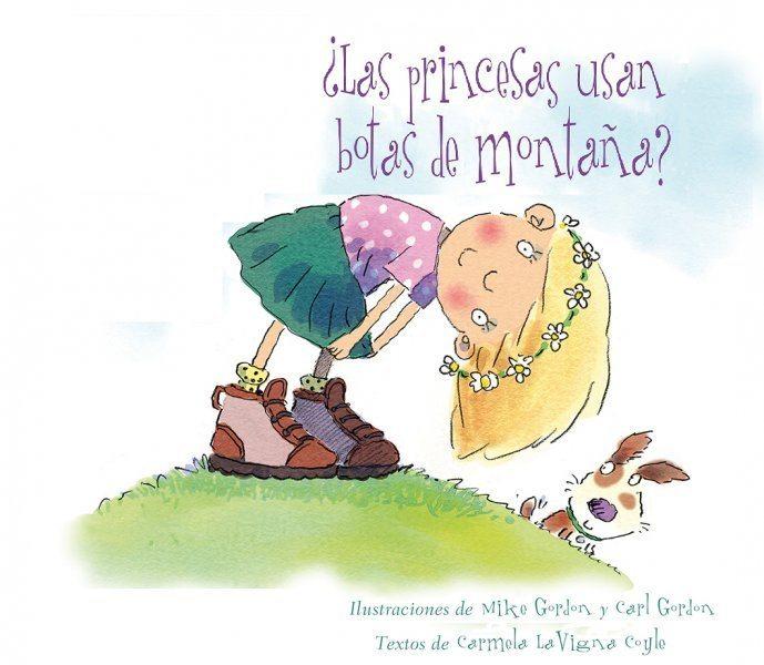 las princesas usan botas de montaña