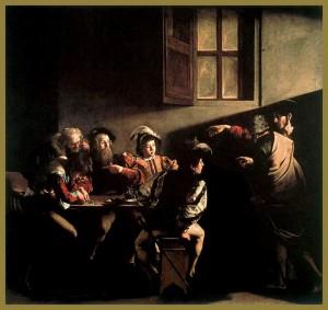 445 1 Caravaggio- Vocacion de San Mateo