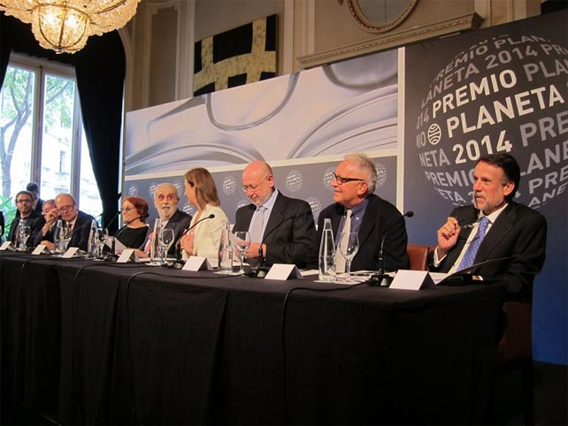Presentación Premio Planeta 2014