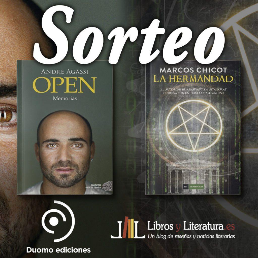 Sorteo Open de Andre Agassi y La Hermandad de Marcos Chicot