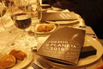 La cena de gala de los Premios Planeta 2015