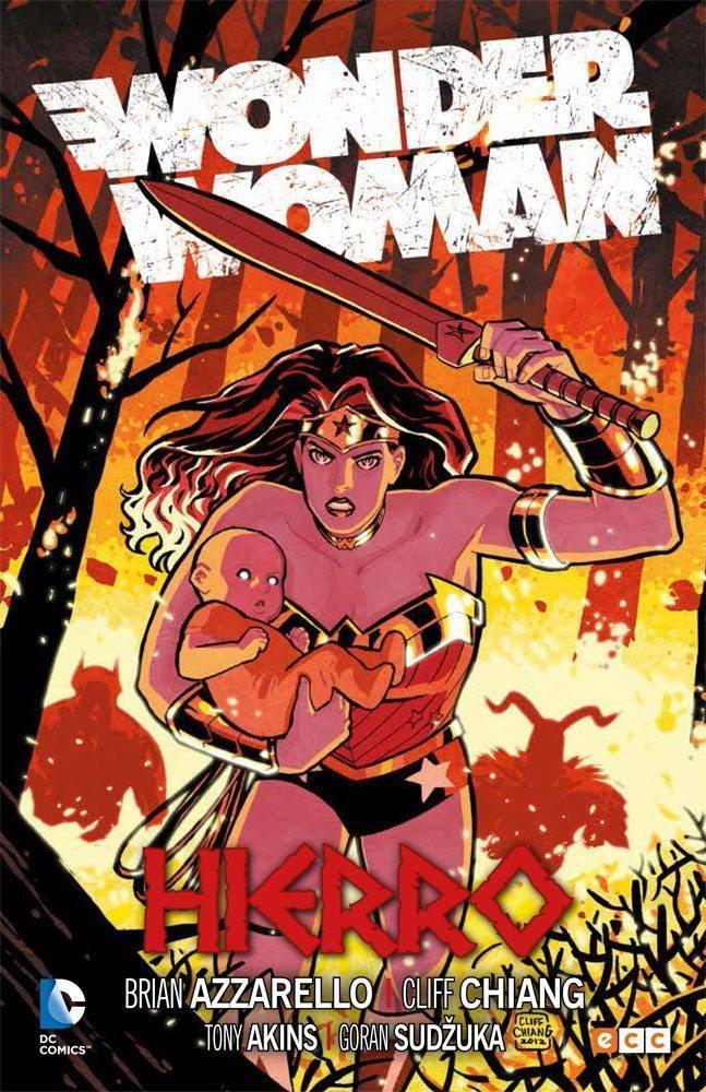 Wonder Woman. Hierro, de Brian Azzarello