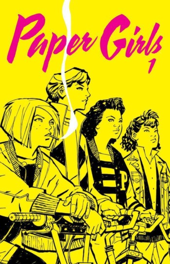 Paper Girls 1, de Brian K. Vaughan y Cliff Chiang