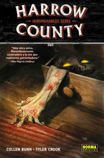 Harrow County 1. Innumerables seres, de Cullen Bunn y Tyler Crook