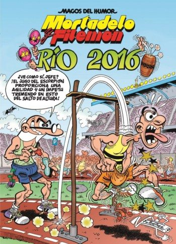 Mortadelo y Filemón: Río 2016, de Francisco Ibáñez