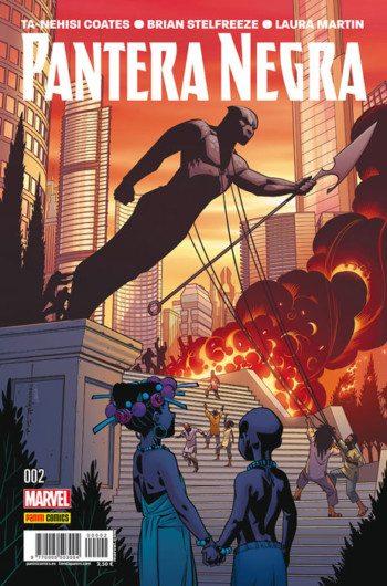 Pantera Negra 2, de Ta-Nehisi Coates y Brian Stelfreeze