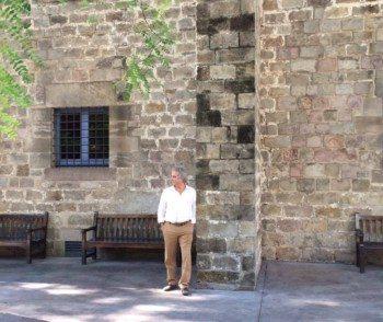 Paseo con Ildefonso Falcones por la Barcelona de 'Los herederos de la tierra'