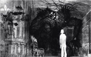 monstruo y conor