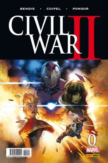 Civil War II 0, de Brian Michael Bendis, Olivier Coipel y Justin Ponsor