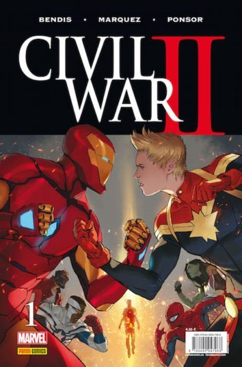 Civil War II 1, de Brian Michael Bendis, David Marquez y Justin Ponsor