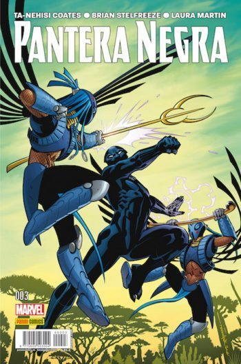 Pantera Negra 3, de Ta-Nehisi Coates y Brian Sterfreeze