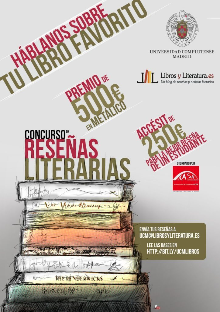Cartel UCM Libros y Literatura