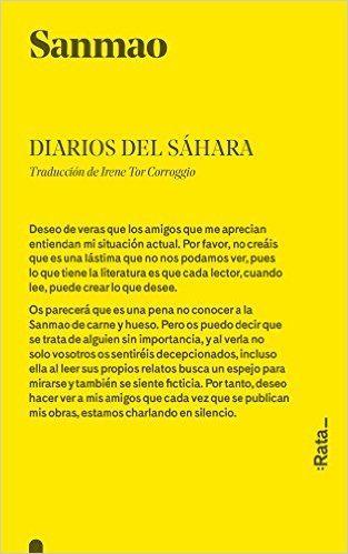 Diarios del Sáhara, de Sanmao