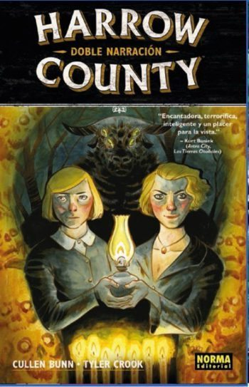 Harrow County 2. Doble narración, de Cullen Bunn y Tyler Crook