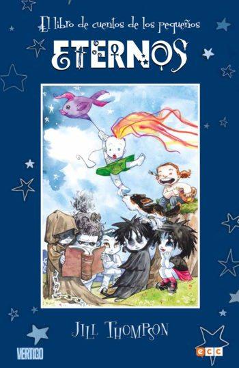 El libro de cuentos de los pequeños eternos, de Jill Thompson