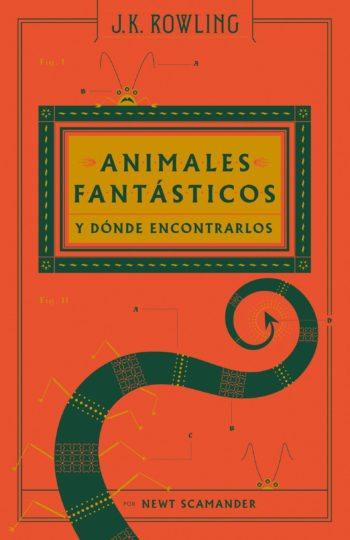 Animales fantásticos y dónde encontrarlos, de J.K. Rowling