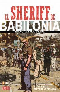 El Sheriff de Babilonia: Bang. Bang. Bang, de Tom King y Mitch Gerads. ECC