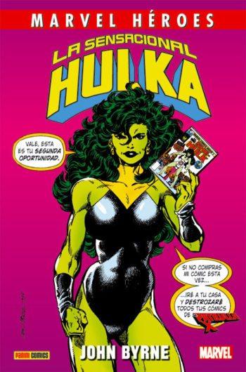 La sensacional Hulka, de John Byrne