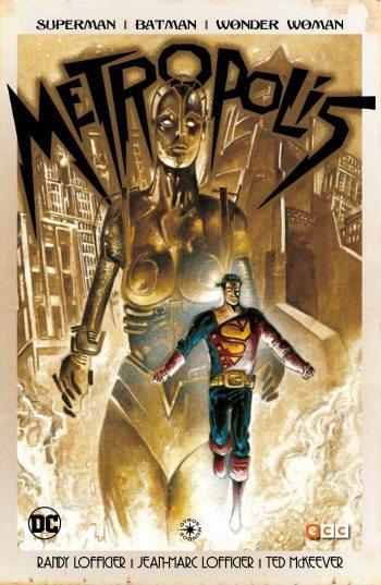 superman batman wonder woman metropolis