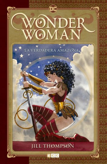 Wonder Woman: La verdadera amazona, de Jill Thompson