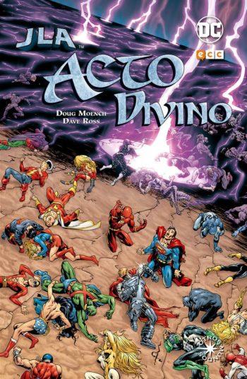 JLA Acto divino, de Dough Moench y Dave Ross