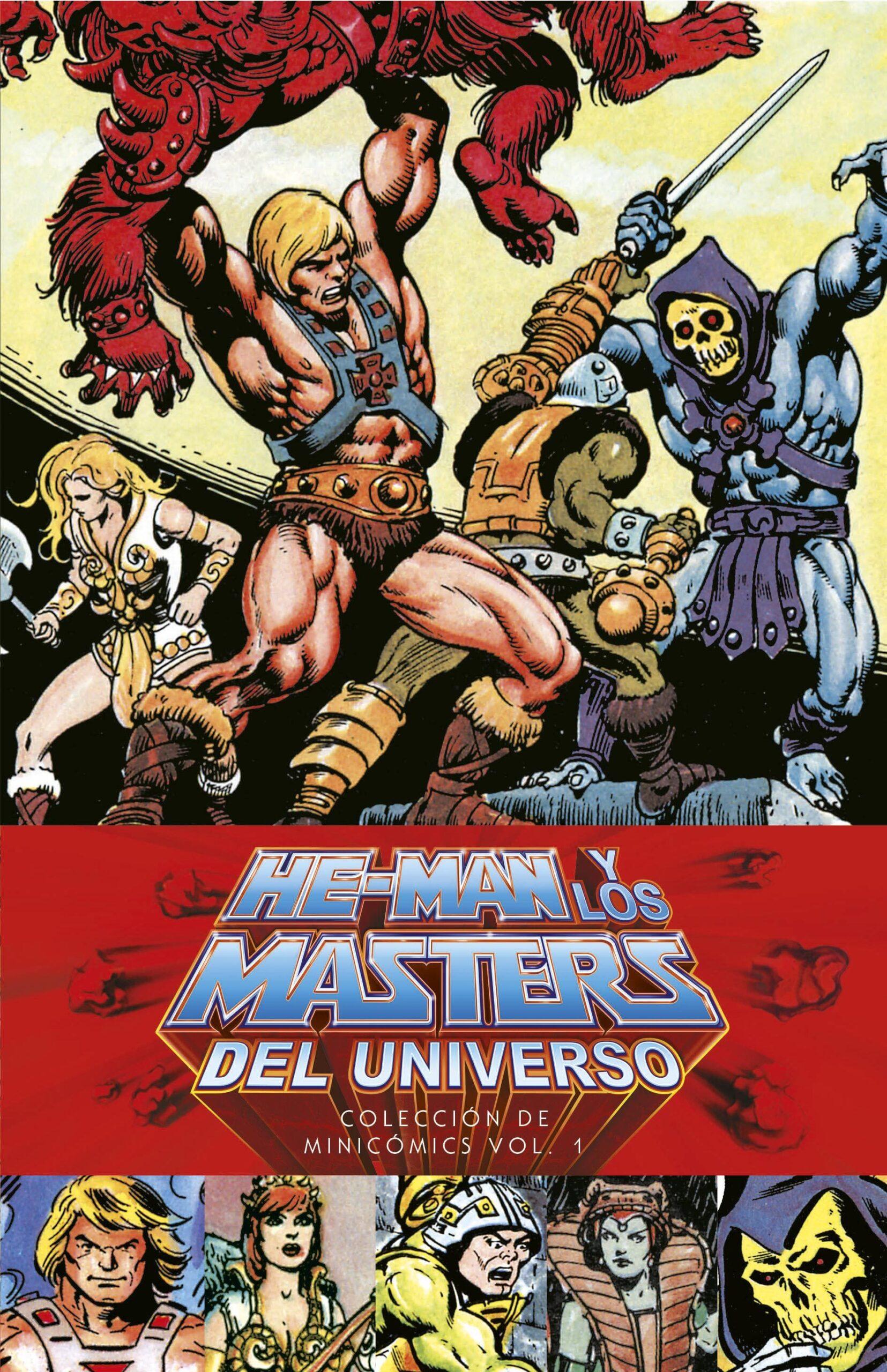 he-man y los masters del universo coleccion de minicomics vol 1