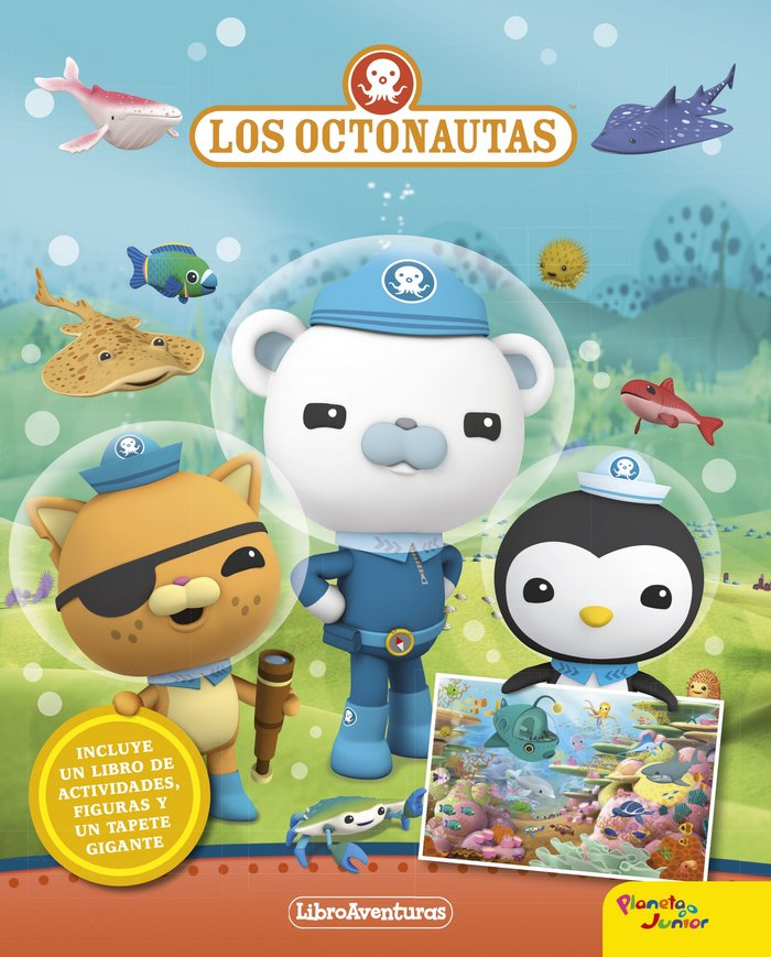 Comprar: Los Octonautas. Libroaventuras 9788408181026 - Libros y ...