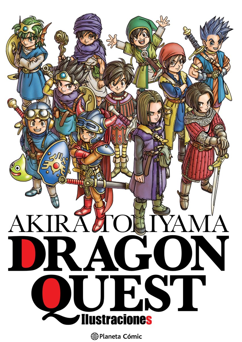Dragon Quest Ilustraciones