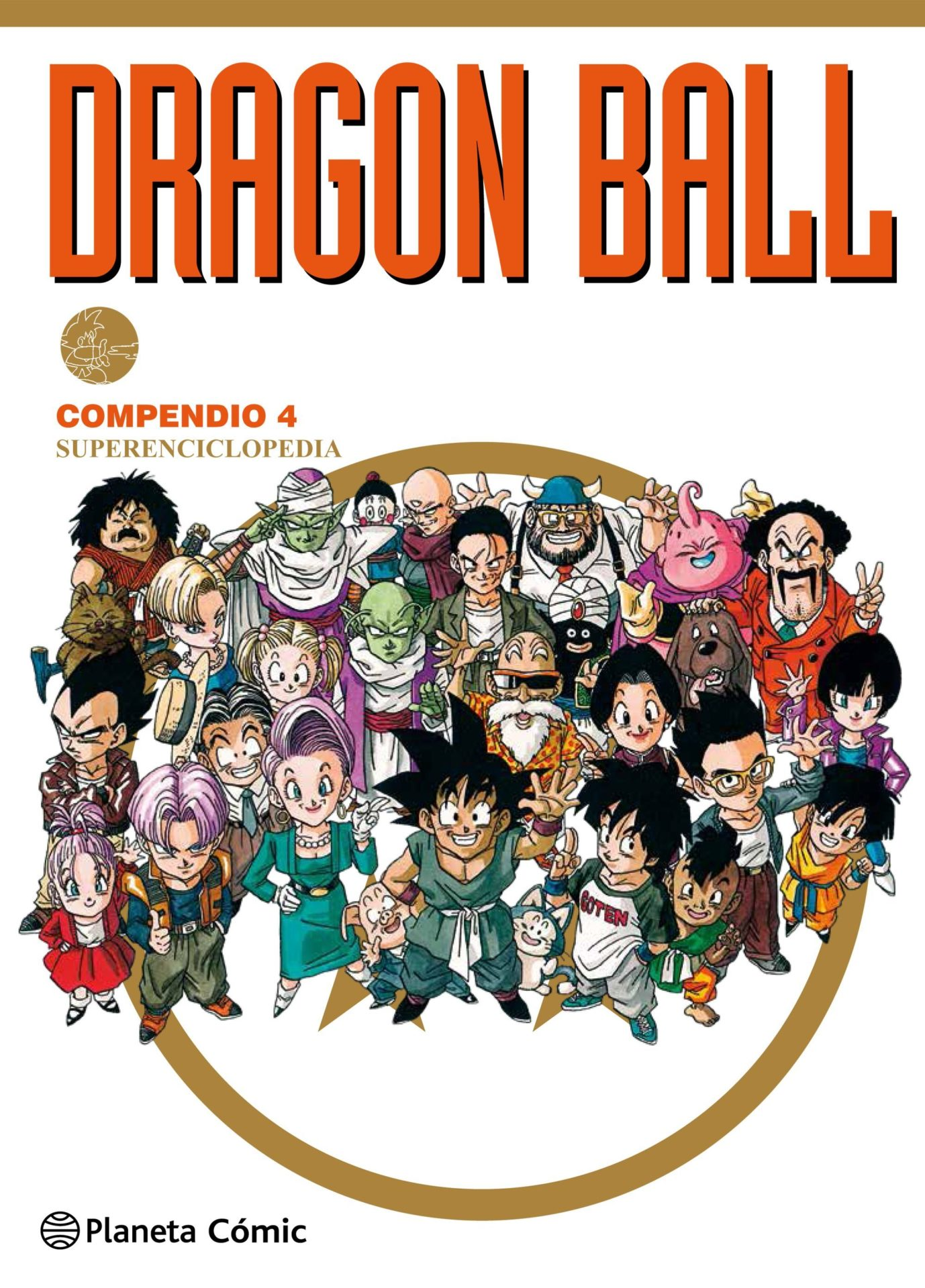 dragon ball compendio 4 superenciclopedia